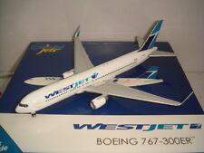 """Gemini Jets 400 WestJet B767-300ERWL """"2015s NEW color - Winglet"""" 1:400"""