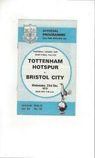 League Cup Tottenham Hotspur Teams S-Z Football Programmes