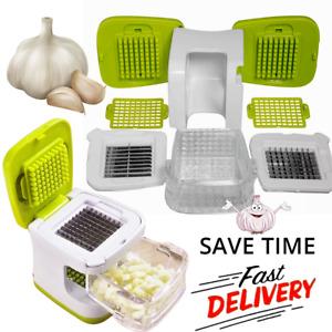Garlic Press Chopper Slicer Hand Presser Grinder Crusher Home Kitchen Tools US