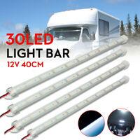 4X 12V 40cm 30 LED 5630 SMD Interior Strip Light Bar Lamp Car Van Fish Tank
