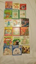 MISC CHILDREN'S BOOKS LOT OF 18 EUC