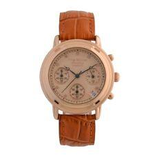 Krug Baumen 150575DL Principle Diamond Ladies Rose Gold Chronograph Watch