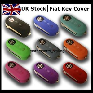 New Key Cover for Fiat 3 Button Flip Case Remote Protective Key Fob Cover Car 7*