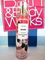 Bath and Body Works ROSE Fragrance Mist Spray 8 fl oz / 236 ml