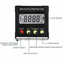 Magnetic Digital Level Angle Finder Protractor Inclinometer Box Bevel Gauge.UK