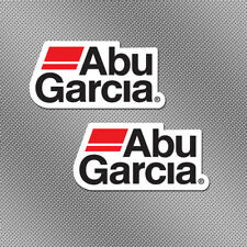 """2x Abu Garcia 6"""" Full Color Stickers Decals Fishing Boat Lure Trailer Tackle Box"""