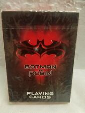 SEALED 1997 BATMAN & Robin  PLAYING CARDS