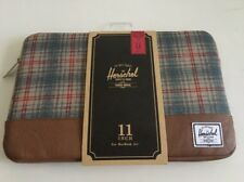 "New Herschel Apple MacBook Air Sleeve 11"" Sleeve WorkCase Bag Storage Retail $40"