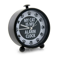 Our Name Mud Cat Alarm Desk Clock Cats My Cat the Alarm Clock Paws RETIRED