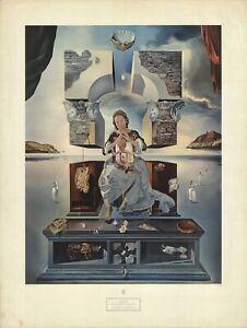 SALVADOR DALI The Madonna of Port Lligat 35.5 x 26.75 Lithograph Surrealism Surr
