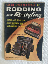 Rodding & Re-styling - Aug 1958 - Floridian, Royal Roadster, 50 Merc, 56 Chev