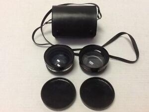 Yashica Yashikor Aux Telephoto Lens Set Y901 & Y902