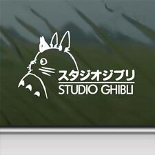 Totoro White Sticker Decal Ghibli Laputa Jdm Anime Die cut vinyl