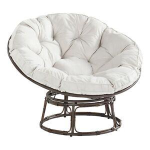 Better Homes & Gardens BH48-022-099-05 Papasan Chair with Fabric Cushion - Pumic