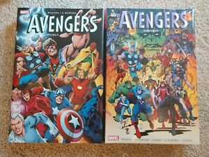 Marvel Avengers Omnibus Vol. 3 And 4 Lot New Sealed
