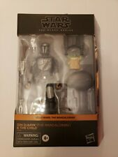 Star Wars Din Djarin Mandalorian & The Child Black Series Target Exclusive
