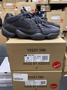 NEW 4 5 5.5 6.5 7 8.5 10* 10.5 11 12 13 14 Adidas Yeezy 500 Utility Black F36640