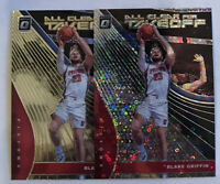 2 x Blake Griffin 2019-20 Optic 1 Prizm Fastbreak 1 Base All Clear For Takeoff