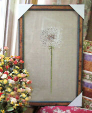 DMC Counted Cross Stitch Kit Dandelion Pattern Floral Pattern Pissenlit