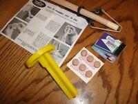 Tweeten Economy Cue Repair Kit Pool Billiards Cue Stick Tip Repair Kit