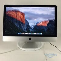 "Apple 2013 27"" IMac 3.2GHz Core I5 1TB 8GB ME088LL/A + A Grade + Warranty!"