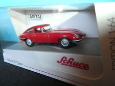 Jaguar E Type coupe in RED part no 45 201 7500 SCHUCO MODEL   1:64 th.New Model