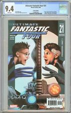 Ultimate Fantastic Four #21 CGC 9.4 WP 2005 2108857022 Variant Edition