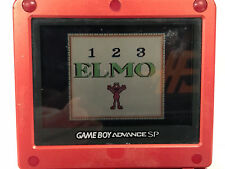 Game Boy  Sesame Street Elmo's 123's Video GAME  CARTRIDGE ONLY