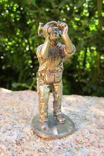 alte KMD Daalderop Zinnfigur Beruf Zimmermann Figur 8,5 cm Zinn Holland 130g