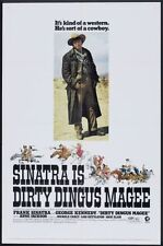 """DIRTY DINGUS MAGEE - 1970 - orig 27x41 movie poster - FRANK SINATRA - Style """"A"""""""