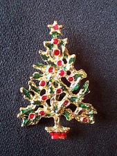 Christmas Tree Christmas Brooch/ Pin New Never Worn