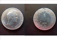 Pièce monnaie 5 FRS 1831 W LOUIS PHILIPPE ARGENT SILVER état voir scan