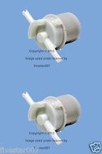 Set of 2 Main Fuel Filters near Gas Tank for Honda Accord Civic Prelude Wagovan
