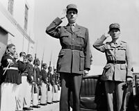 FRENCH LEADER CHARLES DEGAULLE 8x10 SILVER HALIDE PHOTO PRINT