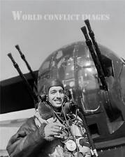 RAF WW2 Hadley Page Halifax Bomber Tail Gunner 8x10 Photo WWII