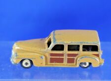 VINTAGE DINKY TOYS PLYMOUTH WOODY METAL CAR NO. 344
