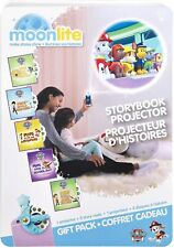 ⭐⭐⭐ NIB Moonlite Make Stories Shine Storybook Projector Paw Patrol Gift Pack ⭐⭐⭐