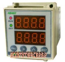 CONTA IMPULSI Programmabile ,CONTA PEZZI,Timer multifunzione.V85~260