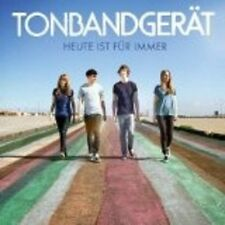 "TONBANDGERÄT ""HEUTE IST FÜR IMMER"" CD NEW+"