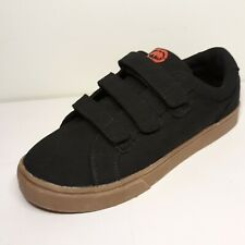 """Ecko Unlimited Unisex Shoes Size 5 Black with Red Nwot. 10"""" soles"""