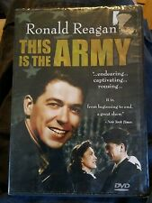 015 This is the Army (DVD, 2006) Ronald Reagan New Sealed Movie