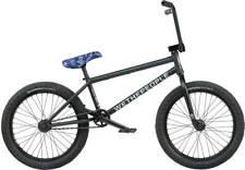 "Wethepeople Crysis 20"" 2021 BMX Freestyle Bici Matt Black 20.5"" FRAME"