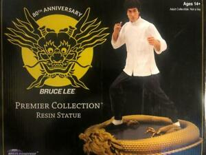 80TH ANNIVERSARY BRUCE LEE PREMIER COLLECTION RESIN STATUE DIAMOND SELECT TOYS