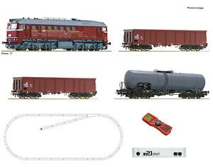 Roco 51331 Startset z21 Diesellok BR 120 + Güterzug (3) DR IV 1:87(H0)