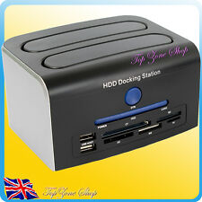"2.5""/3.5"" IDE SATA eSATA USB OTB HDD Hard Drive Card Reader USB Docking Station"