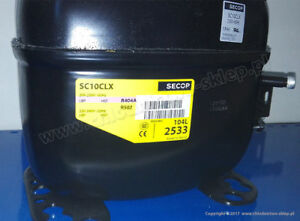 230V compresor Danfoss SC10CLX 104L2533 made by Secop refrigeration