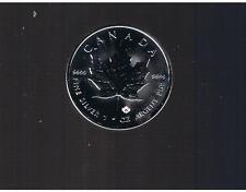$5  2015  BU  1 oz  Canadian Silver Maple Leaf    Free S/H