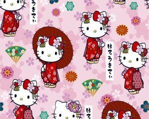 Hello Kitty Kawaii Cotton – price by the Half Metre