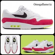 Nike Air Max 1, Pink Rush, Volt, AH8145-111, Sz UK 12, EU 47.5, US 13