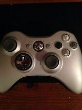Silver Chrome Xbox 360 controller